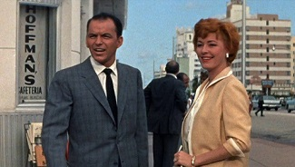Frank Sinatra y Eleanor Parker en A Hole in the Head